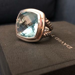 David Yurman Sterling silver Albion Ring